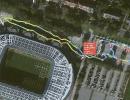 GPS Tag der Fans 2017 - Ankunft Weserstadion um 12.47 Uhr